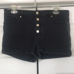 Forever 21 Mid-Rise Rolled Shorts